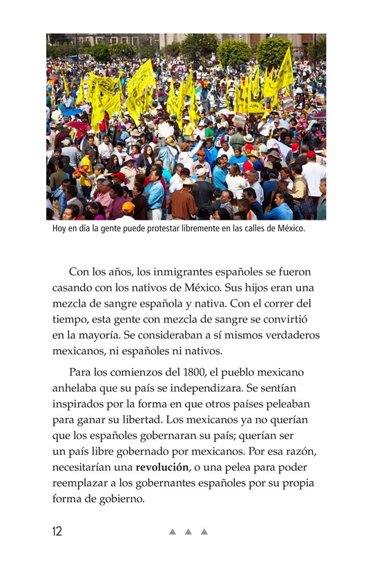 Book Preview For Mexico's Fight for Independence Page 12