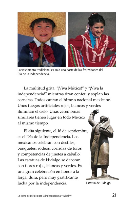Book Preview For Mexico's Fight for Independence Page 21