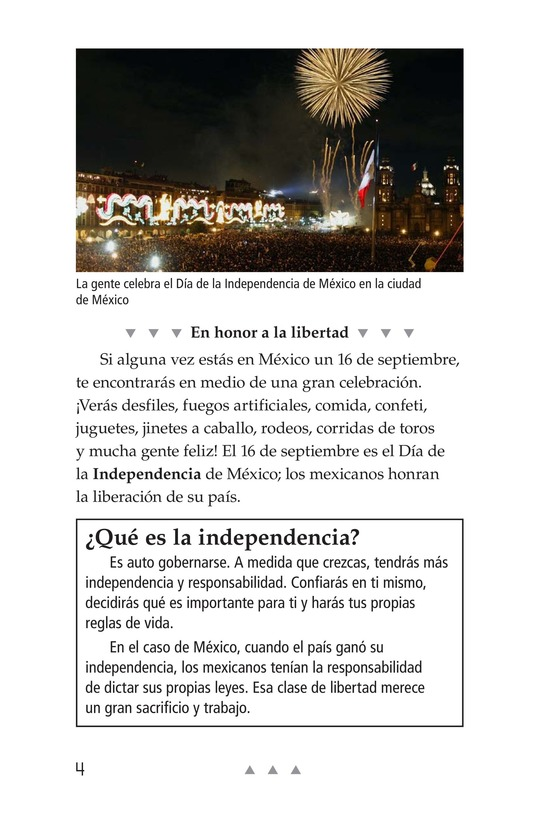 Book Preview For Mexico's Fight for Independence Page 4