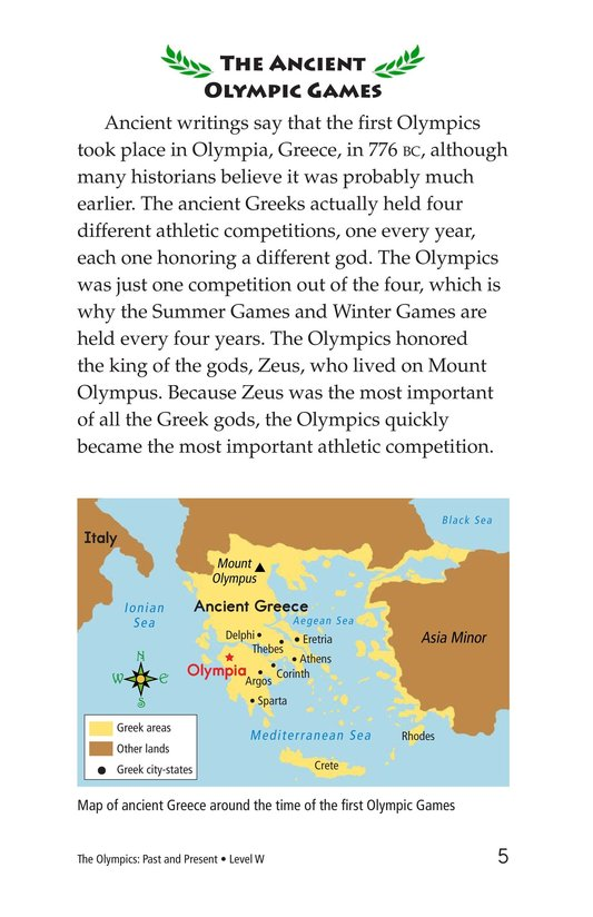 Book Preview For The Olympics: Past and Present Page 5