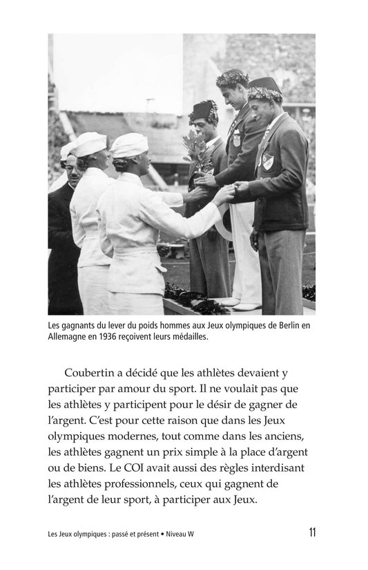 Book Preview For The Olympics: Past and Present Page 11