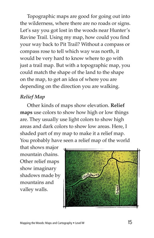 Book Preview For Mapping the Woods: Maps and Cartography Page 15