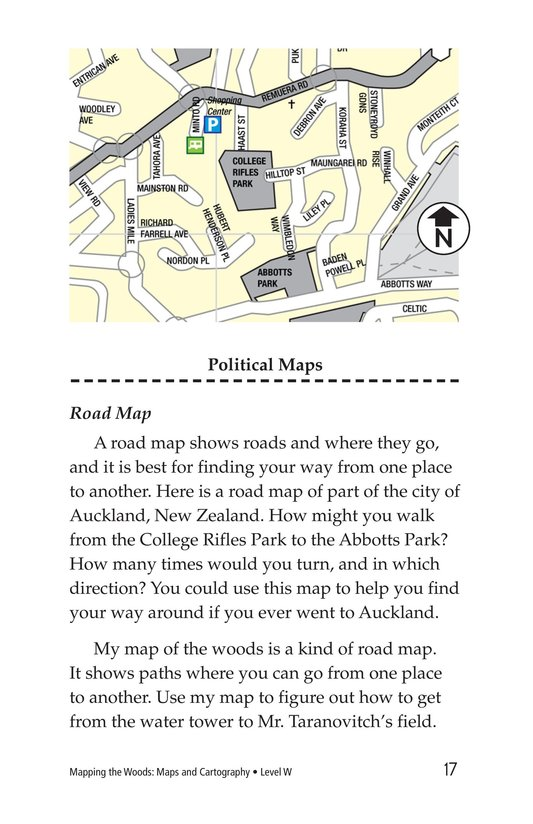 Book Preview For Mapping the Woods: Maps and Cartography Page 17