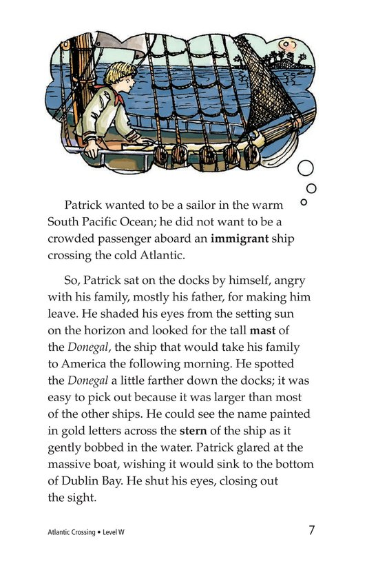 Book Preview For Atlantic Crossing Page 7