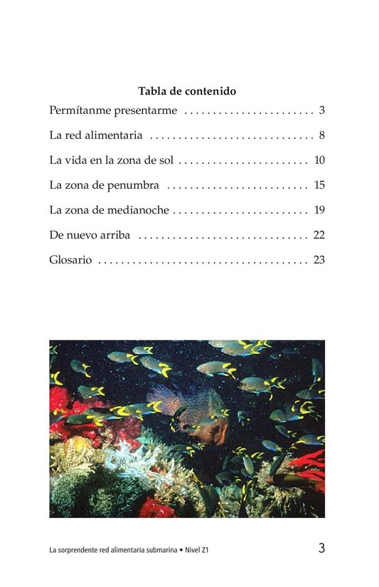 Book Preview For The Amazing Undersea Food Web Page 3