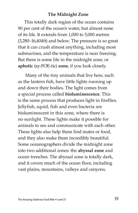 Book Preview For The Amazing Undersea Food Web Page 19