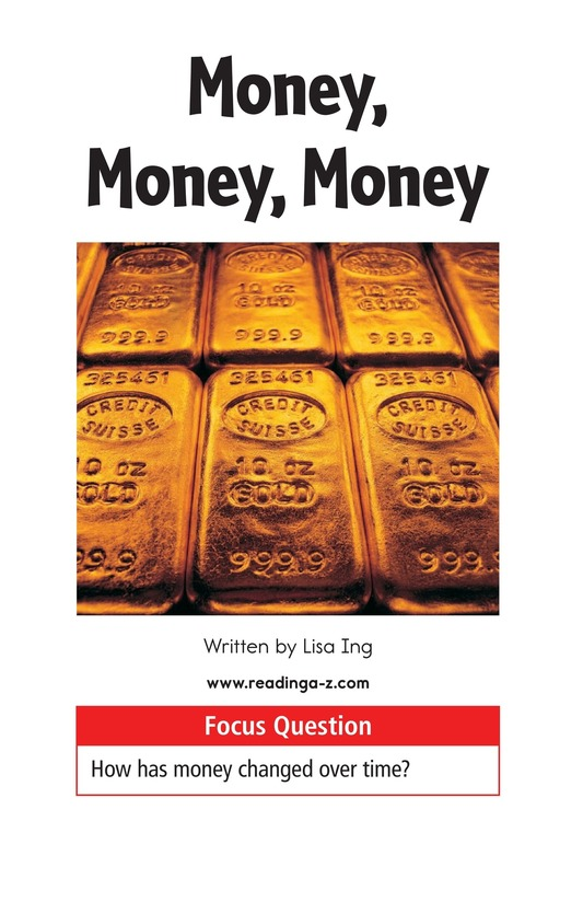 Book Preview For Money, Money, Money Page 1