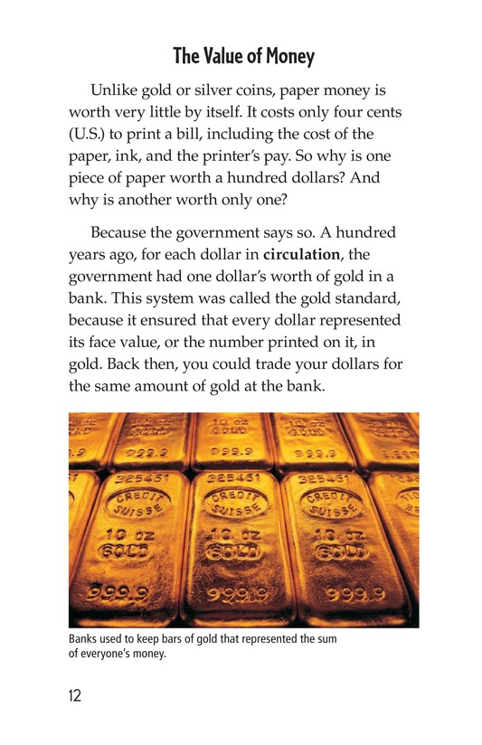 Book Preview For Money, Money, Money Page 12