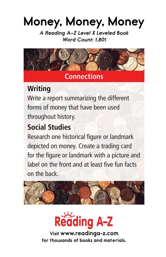 Book Preview For Money, Money, Money Page 21