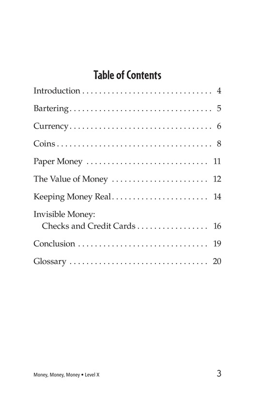 Book Preview For Money, Money, Money Page 3