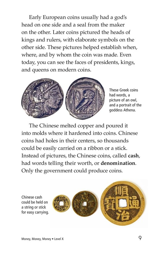 Book Preview For Money, Money, Money Page 9