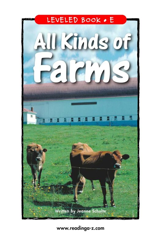 Book Preview For All Kinds of Farms Page 1