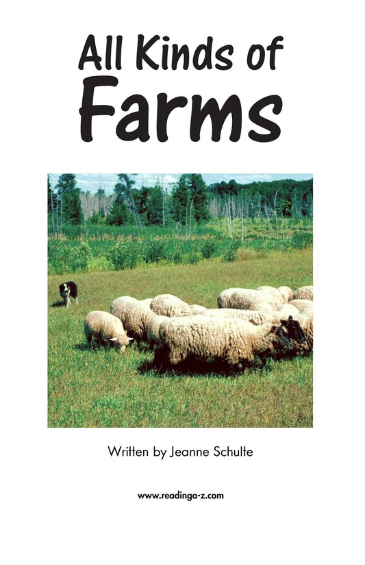 Book Preview For All Kinds of Farms Page 2