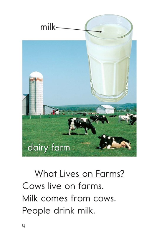 Book Preview For All Kinds of Farms Page 4