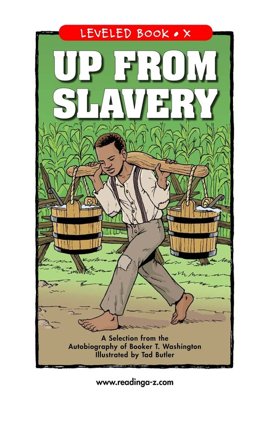 Book Preview For Up From Slavery Page 1