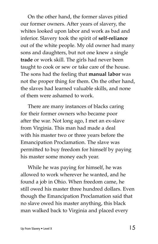 Book Preview For Up From Slavery Page 15