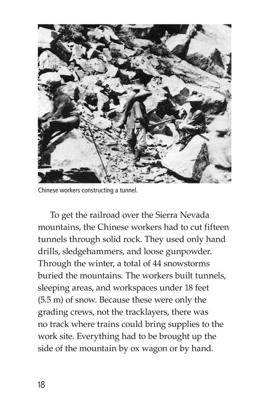 Book Preview For The Transcontinental Railroad Page 18