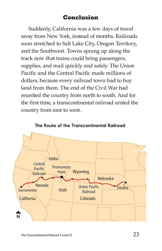 Book Preview For The Transcontinental Railroad Page 23