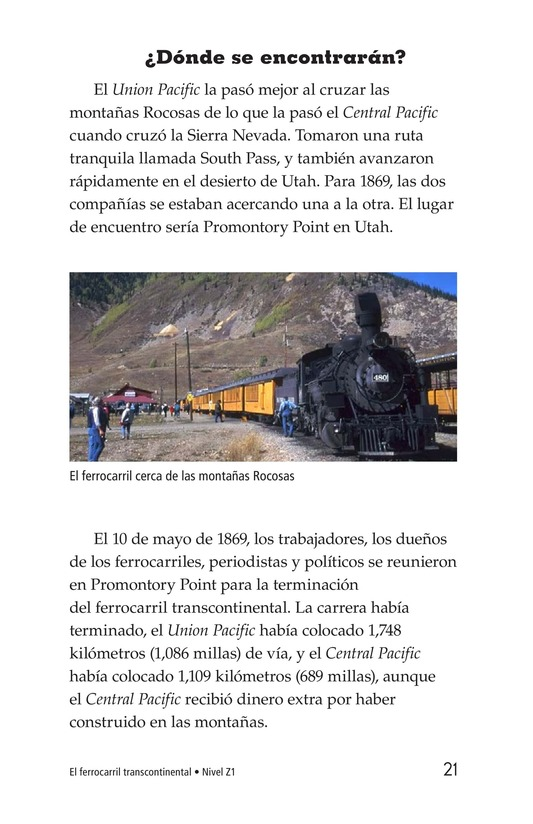 Book Preview For The Transcontinental Railroad Page 21