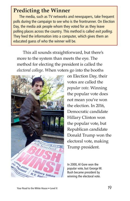 Book Preview For Your Road to the White House Page 19