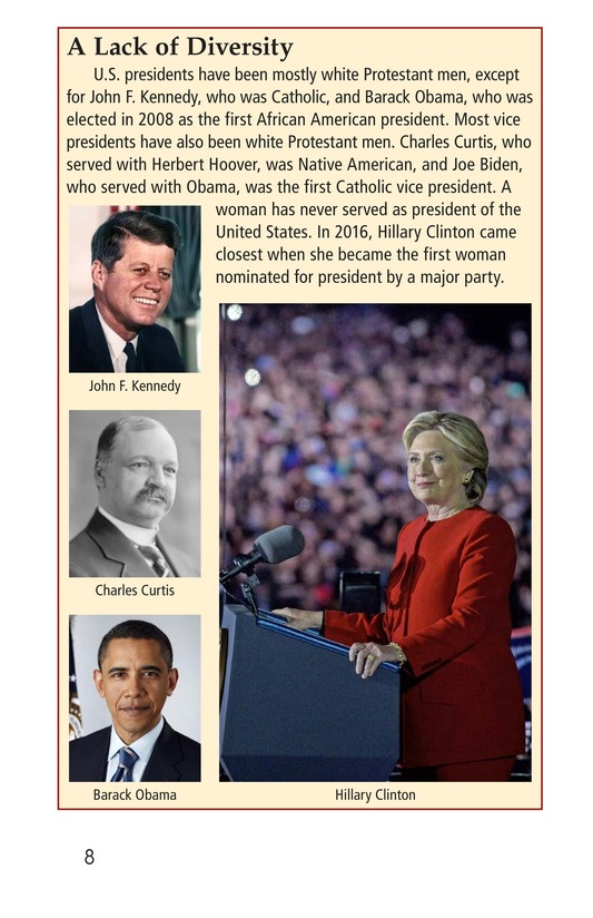 Book Preview For Your Road to the White House Page 8