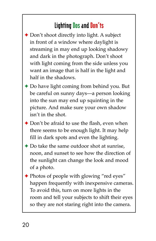 Book Preview For The Art of Photography Page 20