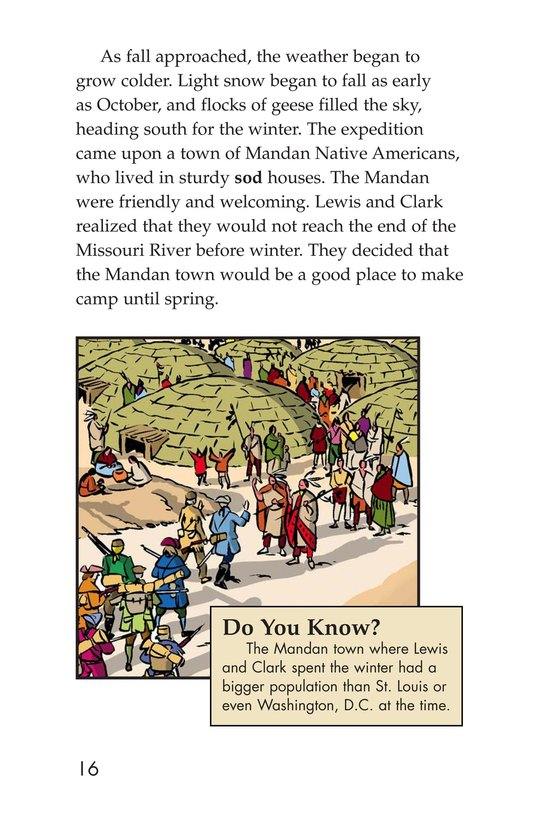 Book Preview For The Story of Lewis and Clark Book 1: Up the Missouri River Page 16
