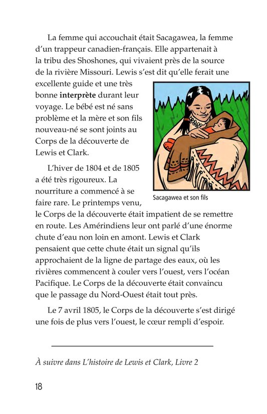 Book Preview For The Story of Lewis and Clark Book 1: Up the Missouri River Page 18