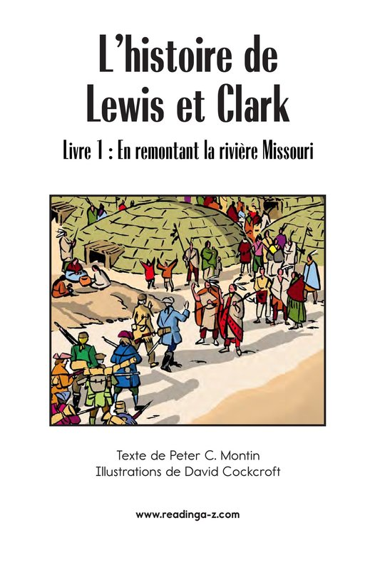 Book Preview For The Story of Lewis and Clark Book 1: Up the Missouri River Page 2