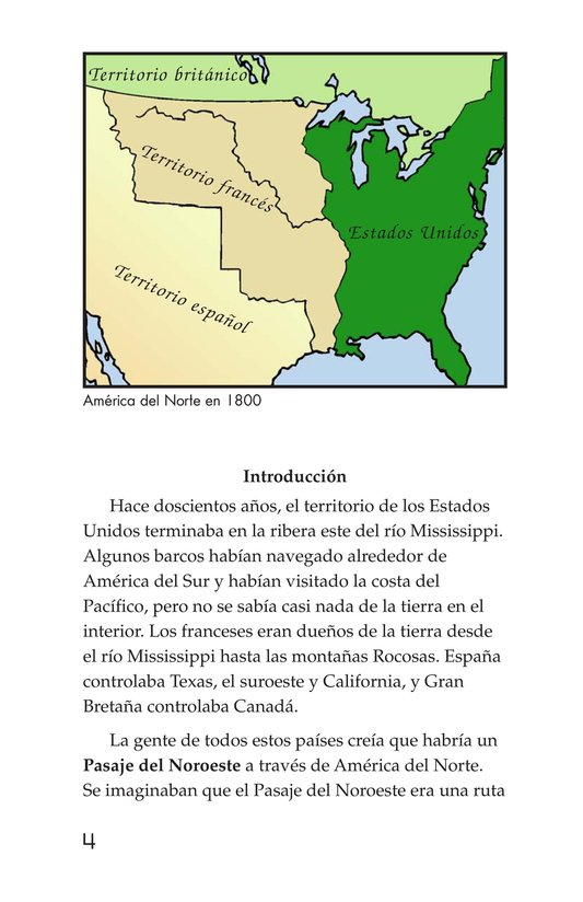 Book Preview For The Story of Lewis and Clark Book 1: Up the Missouri River Page 4