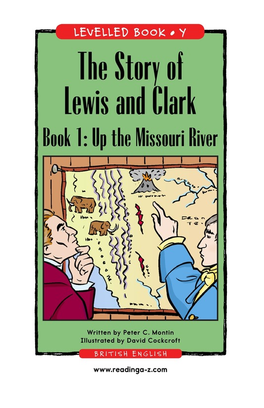 Book Preview For The Story of Lewis and Clark Book 1: Up the Missouri River Page 1