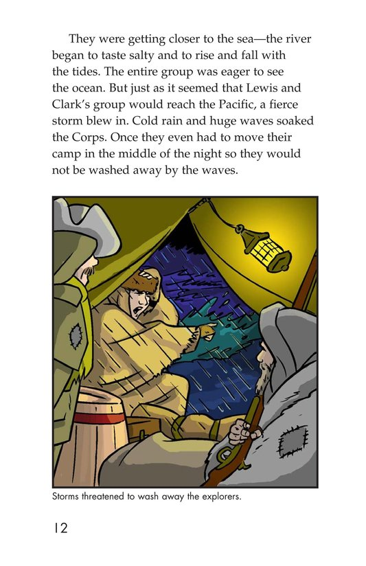 Book Preview For The Story of Lewis and Clark Book 2: To the Pacific Ocean Page 12