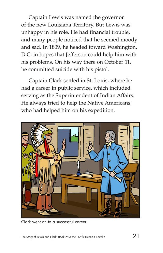 Book Preview For The Story of Lewis and Clark Book 2: To the Pacific Ocean Page 21