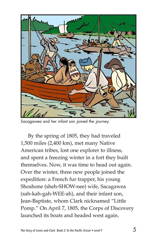 Book Preview For The Story of Lewis and Clark Book 2: To the Pacific Ocean Page 5