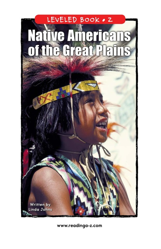Book Preview For Native Americans of the Great Plains Page 1