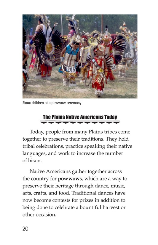 Book Preview For Native Americans of the Great Plains Page 20