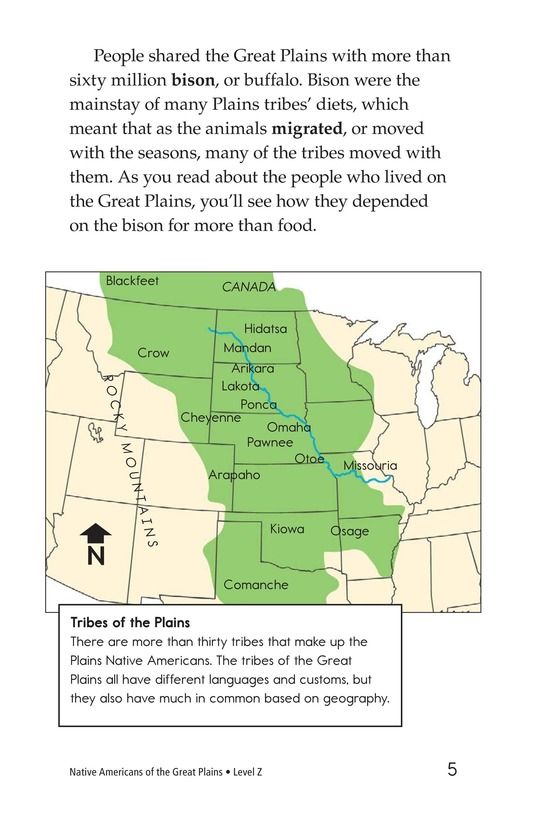 Book Preview For Native Americans of the Great Plains Page 5
