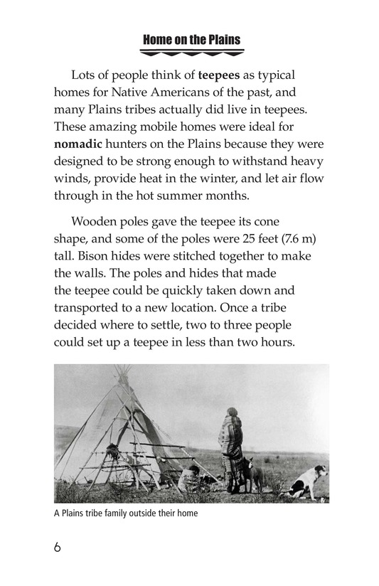 Book Preview For Native Americans of the Great Plains Page 6