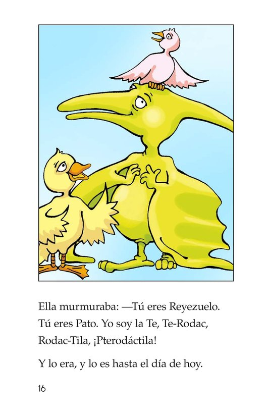 Book Preview For Can You Say Pterodactyl? Page 16