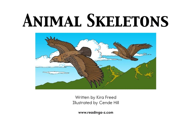 Book Preview For Animal Skeletons Page 2