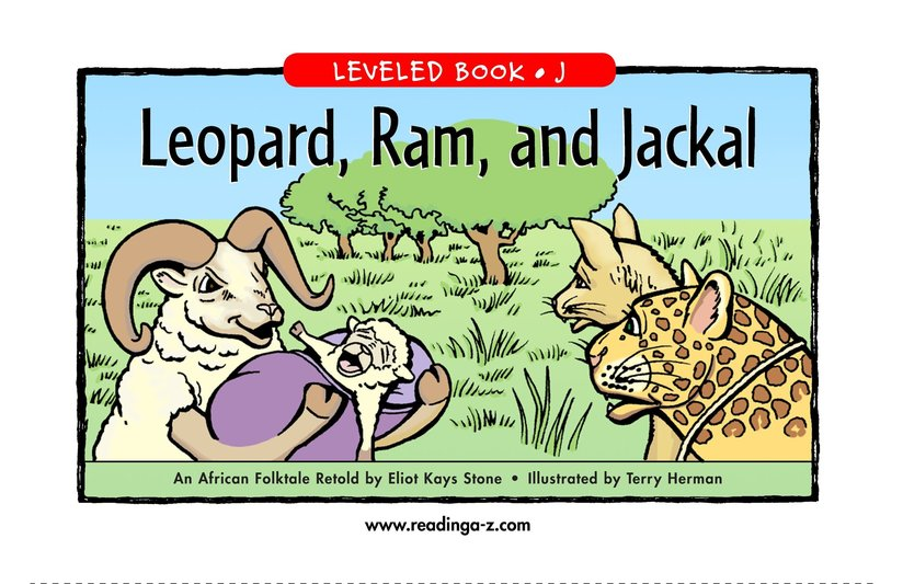 Book Preview For Leopard, Ram, and Jackal Page 1