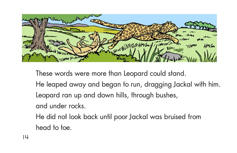 Book Preview For Leopard, Ram, and Jackal Page 14
