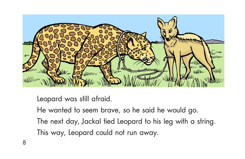 Book Preview For Leopard, Ram, and Jackal Page 8