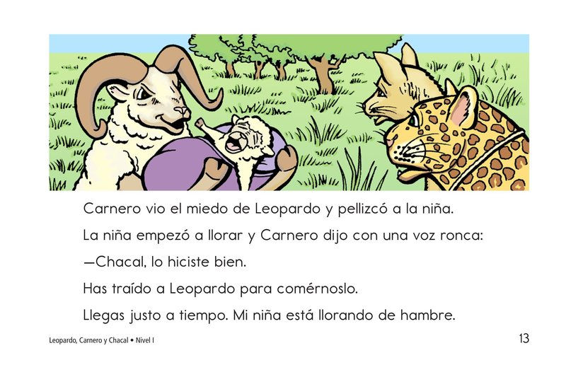 Book Preview For Leopard, Ram, and Jackal Page 13