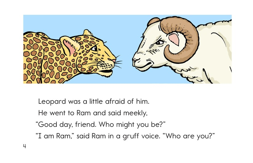 Book Preview For Leopard, Ram, and Jackal Page 4