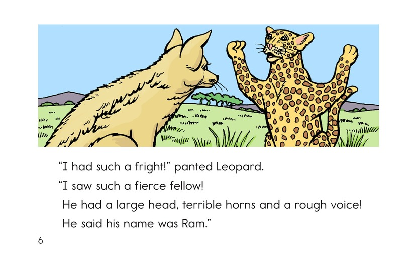 Book Preview For Leopard, Ram, and Jackal Page 6