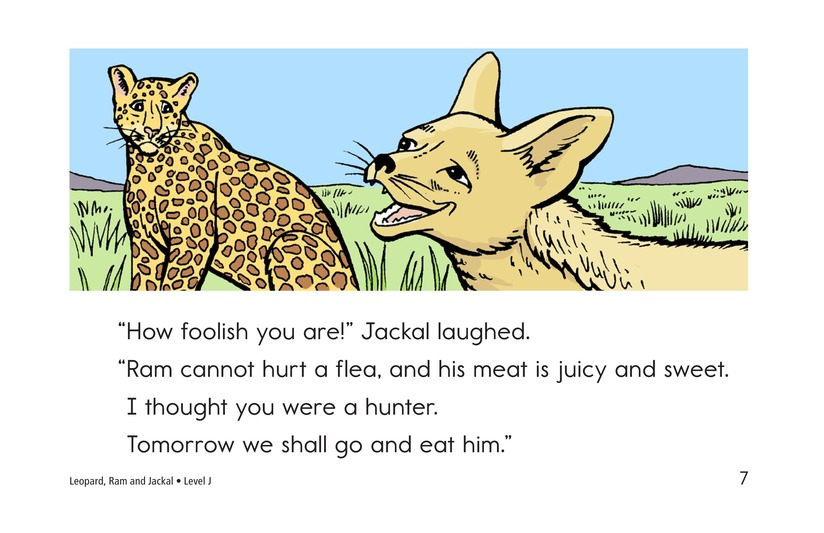 Book Preview For Leopard, Ram, and Jackal Page 7