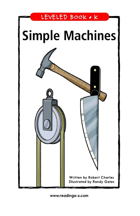 Book Preview For Simple Machines Page 1