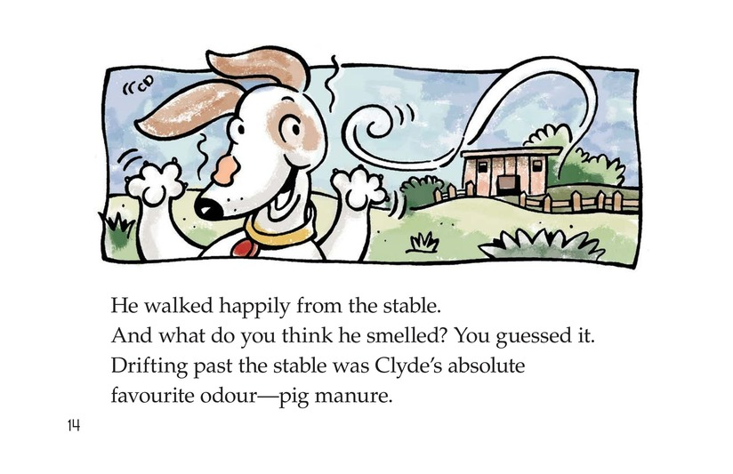 Book Preview For Smelly Clyde Page 14