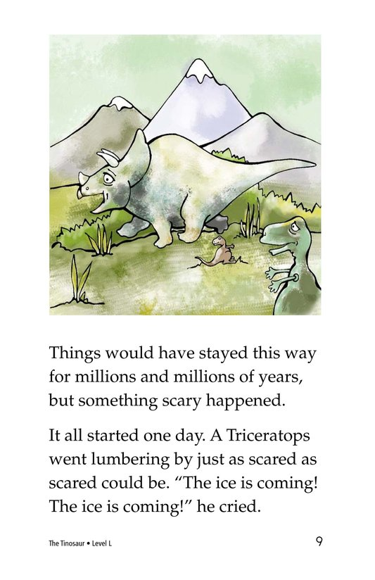 Book Preview For The Tinosaur Page 9